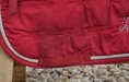 Hv-Polo Team Schabracke red / rot , Dressur ( DL ) (Bild 6)